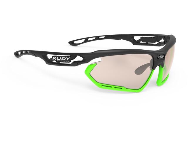 Rudy Project Fotonyk Glasses black matte - impactx photochromic 2 laser brown